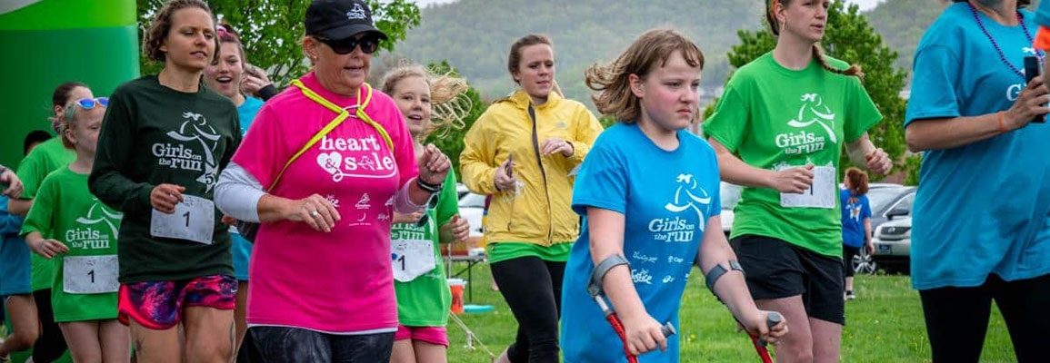 Girls on the Run of the High Country