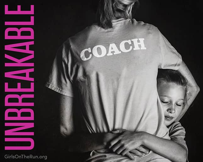 Coach with girl